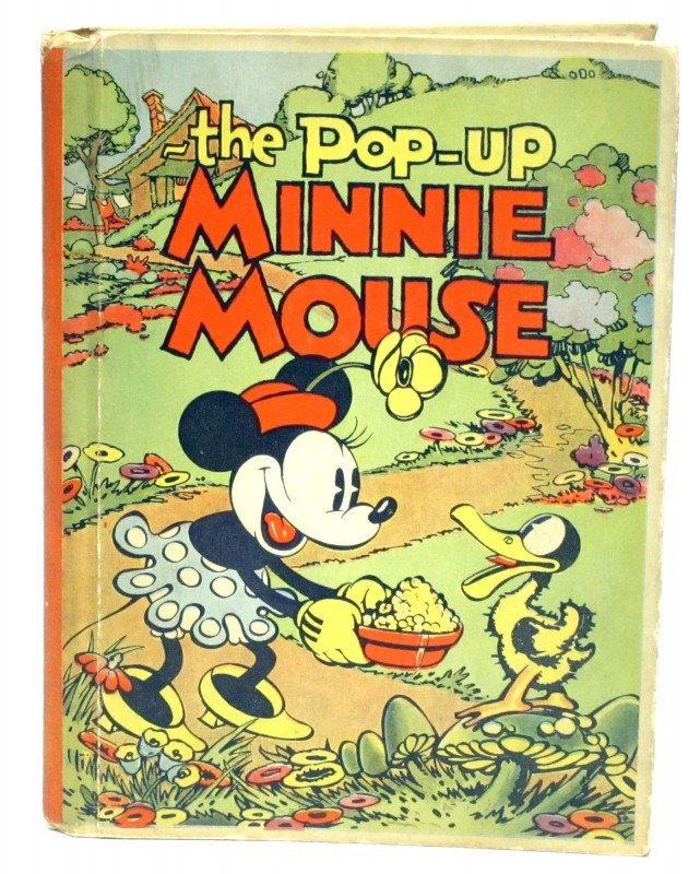 84: MINNIE MOUSE POP-UP BOOK