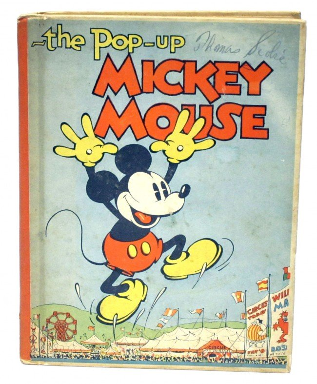 85: MICKEY MOUSE POP-UP BOOK