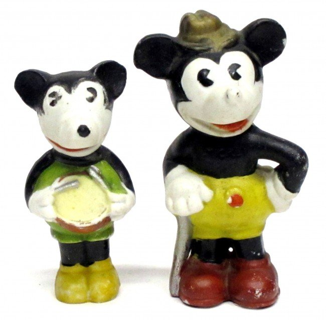 93: MICKEY MOUSE FIGURES