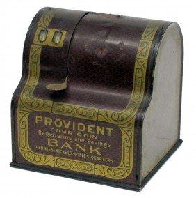 PROVIDENT REGISTERING BANK