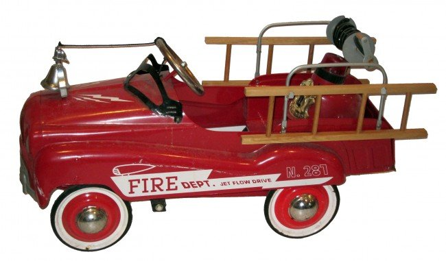 229: GLIDE RIDE FIRE DEPT. PEDAL CAR