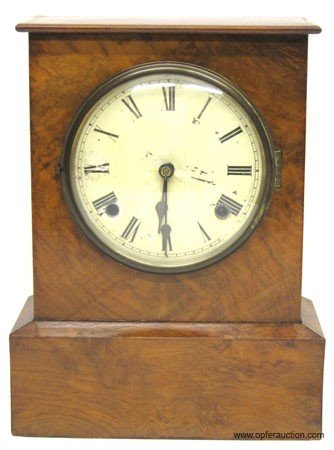 13: EARLY MANTLE CLOCK