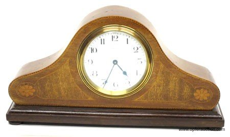 21: FRENCH MANTLE CLOCK