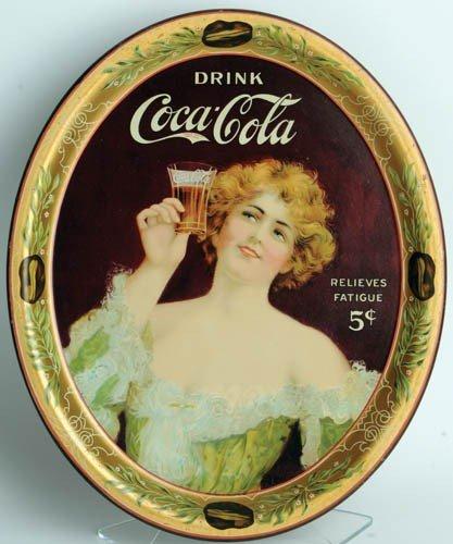 5: 1907 Coca-Cola Serving Tray (medium oval)