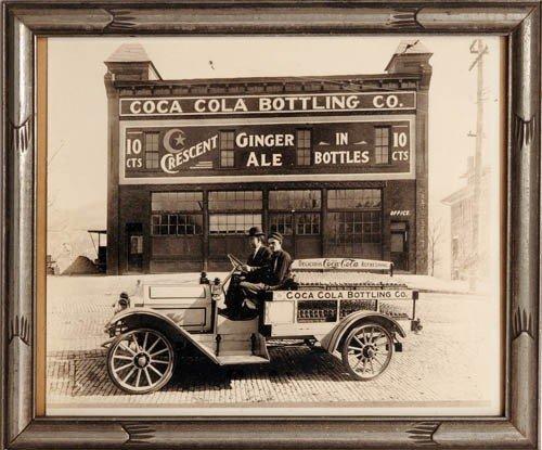 "6: EARLY 1900'S 8""X10"" COCA-COLA ORIGINAL PHOTOGRAPH"