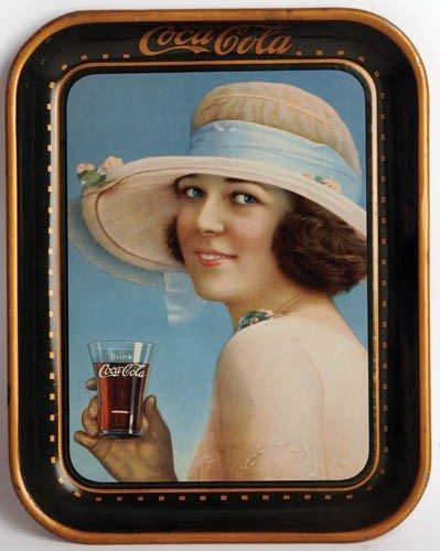12: 1922 COCA-COLA SERVING TRAY