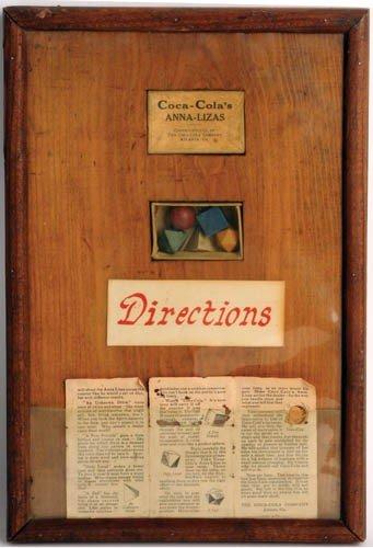 "15: 1922 Coca-Cola's ""Anna-Lizas"""