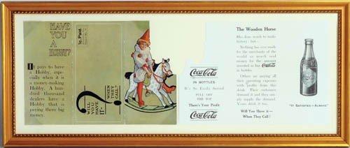 17: C.1910 COCA-COLA ADVERTISING CARD