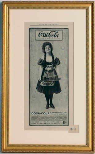 "23: 1906 Coca-Cola Magazine Ad from ""The Burr McIntosh"