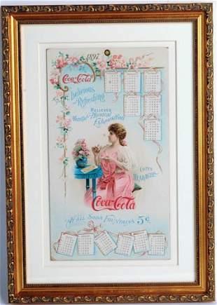 240: 1897 Coca-Cola Victorian Girl calendar