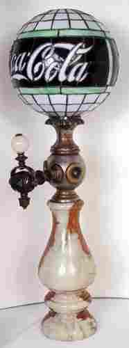 357: C.1915 COCA-COLA LEADED GLOBE SODA DISPENSER