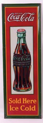 546: 1931Coca-Cola tin sign