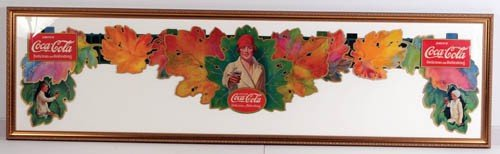 565: 1927 Coca-Cola Autumn  Leaves festoon