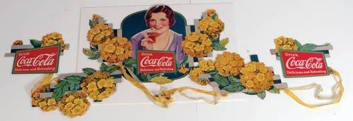 """566: 1932 Coca-Cola Festoon """"Verbena"""""""