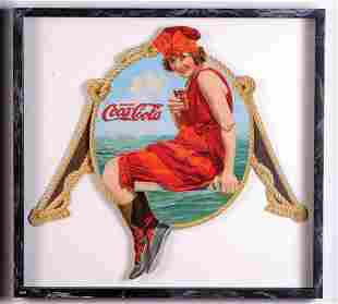 575: c.1918 Coca-Cola festoon