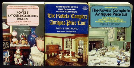 13: KOVELS Price Guides To Antiques (9)