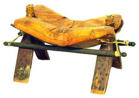 17: CAMEL SADDLE Style Stool