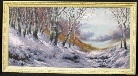 520: BELA GABRIS (Hungary) Winter Landscape View