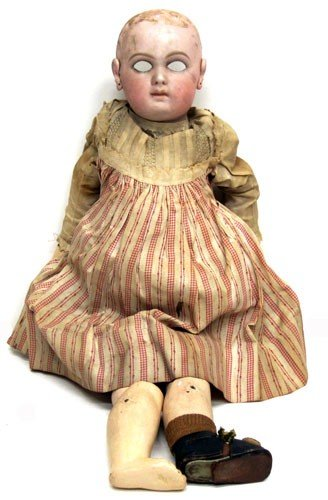 2: FRENCH BISQUE DOLL