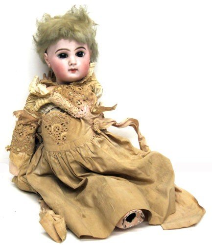 3: FRENCH BISQUE DOLL