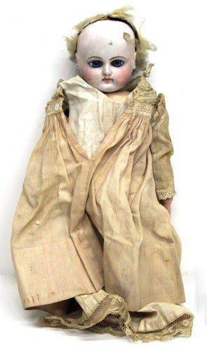 4: FRENCH FASHION BISQUE DOLL