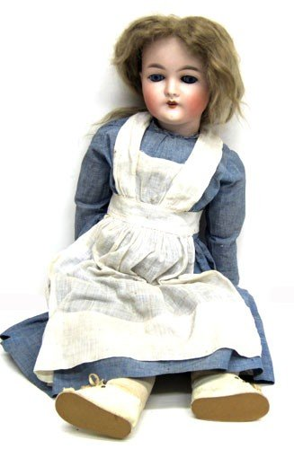 5: QUEEN LOUISE BISQUE DOLL