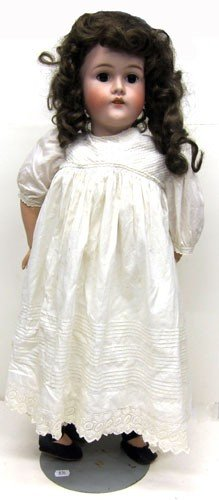 8: QUEEN LOUISE BISQUE DOLL