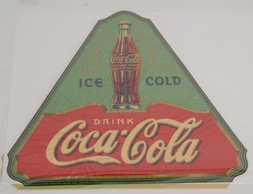 3: COCA-COLA TRIANGULAR DECAL