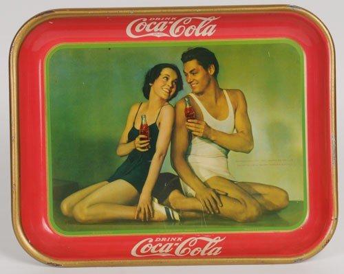 6: 1934 COCA-COLA SERVING TRAY