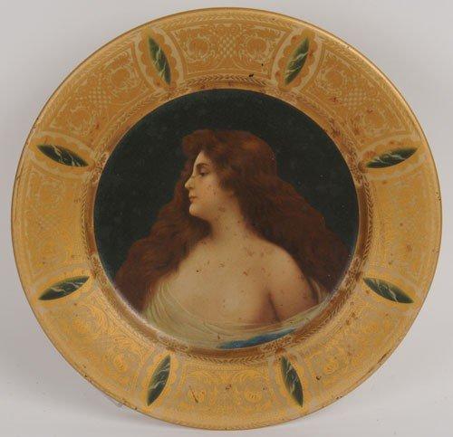 7: CIRCA 1905-1908 COCA-COLA VIENNA ART PLATE