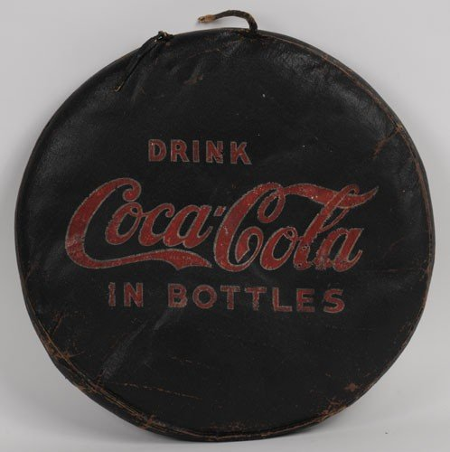 9: 1920'S TO 30'S COCA-COLA SEAT CUSHION