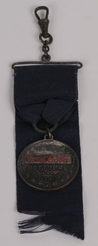 16: 1917 COCA-COLA CONVENTION MEDAL with RIBBON