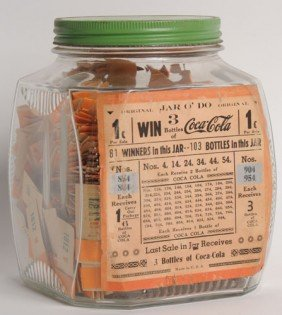 RARE COCA-COLA JAR O' DO