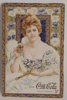 1903 COCA-COLA MENU CARD