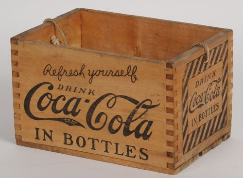 96: 1920'S COCA-COLA WOODEN CARRIER
