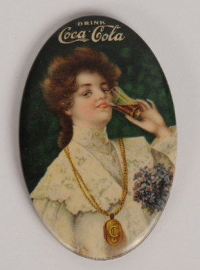 1906 COCA-COLA POCKET MIRROR
