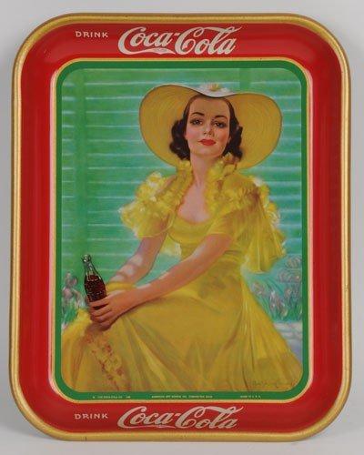 146: 1938 COCA-COLA SERVING TRAY