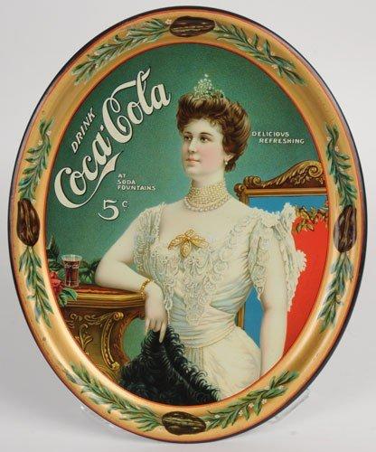 149: 1905 COCA-COLA SERVING TRAY