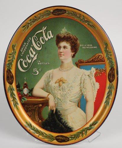 150: 1905 COCA-COLA SERVING TRAY