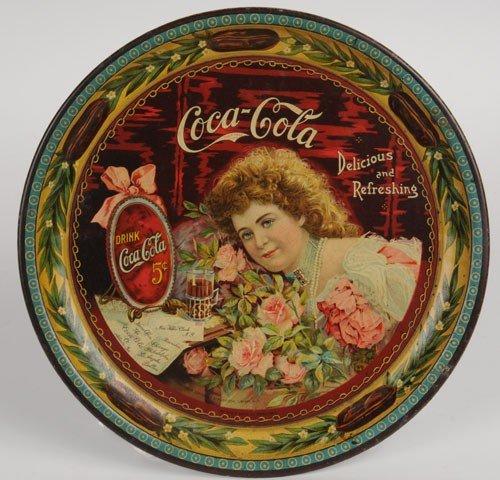 151: 1901 COCA-COLA CHANGE TRAY