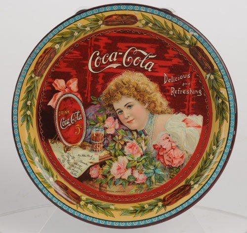 152: 1901 COCA-COLA SERVING TRAY