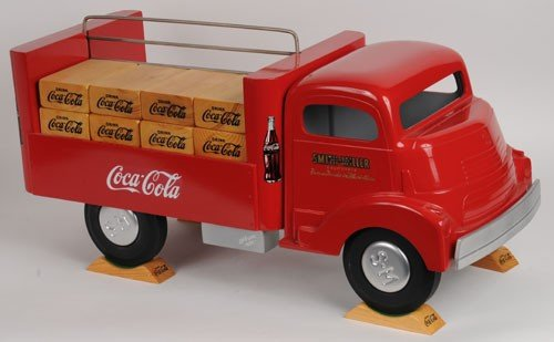 411:  80'S COCA-COLA SMITH MILLER OVERSIZED DISPLAY