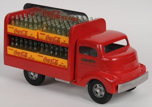 412: 1979 SMITH MILLER TOY COCA-COLA TRUCK