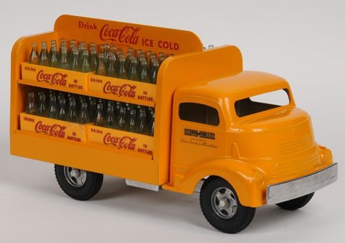 413: SMITH MILLER TOY COCA-COLA TRUCK