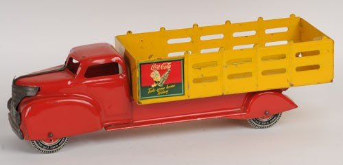 418: MARX CANADIAN TOY TRUCK