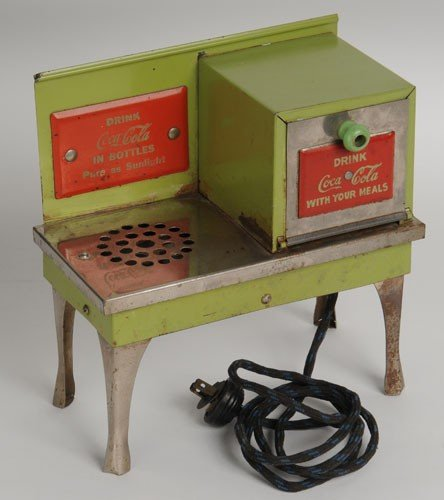 419: EARLY 30'S COCA-COLA TOY STOVE