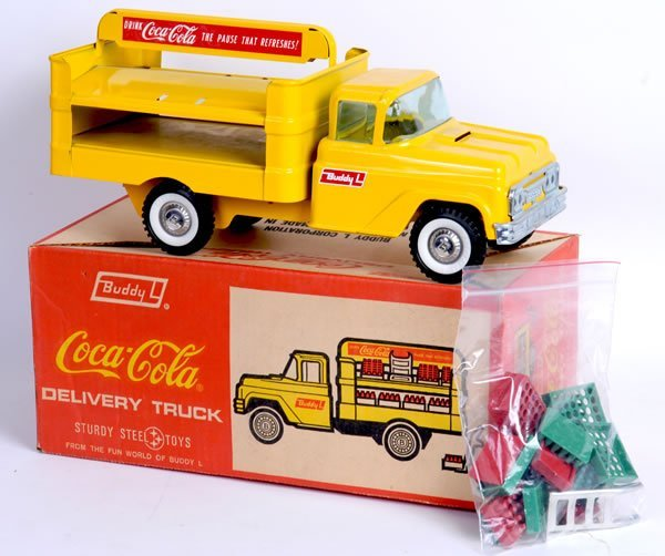 338: BUDDY-L COCA-COLA DELIVERY TRUCK from 1960'S