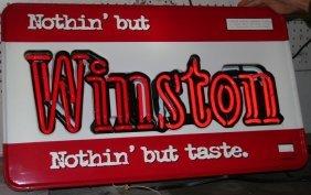 1: WINSTON CIGARETTES NEON SIGN