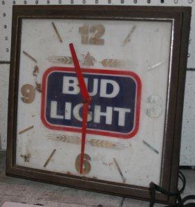 12: (2) ADVERTISING CLOCKS