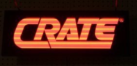 15: CRATE LIGHTED SIGN